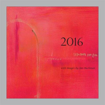 2016 Jan Bachman Calendar