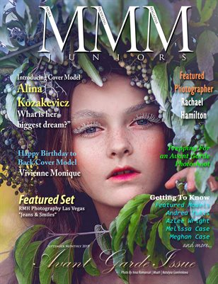 Juniors September Monthly Avant Garde Issue