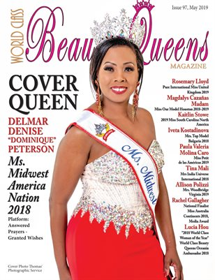 World Class Beauty Queens Magazine Issue 97 with Dominique  Peterson