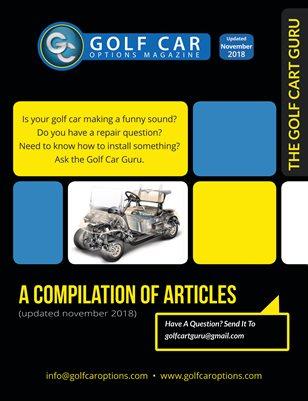 Ask The Golf Cart Guru - (Updated Nov2018)