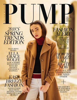 PUMP Magazine - The Spring Trend Edition Vol. 2