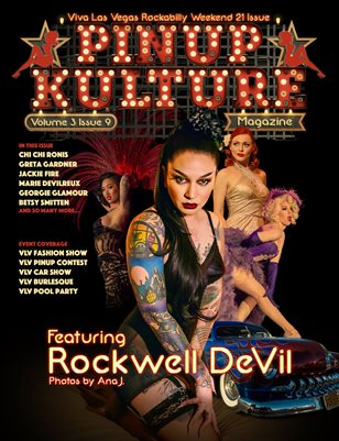 Pinup Kulture Magazine Volume 3, Issue 9