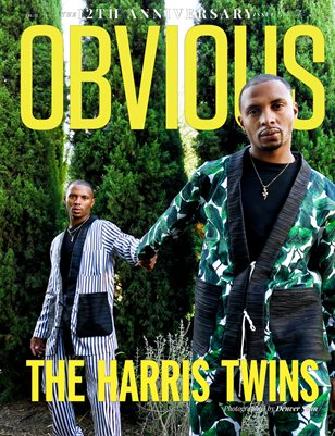 12TH ANNIVERSARY ISSUE - THE HARRIS TWINS