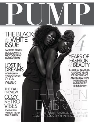 PUMP Magazine - The Black & White Edition - Vol. 3