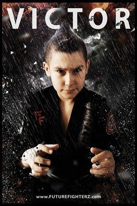 Victor Ceja Rain Poster