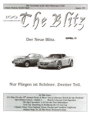The Blitz, August 1999