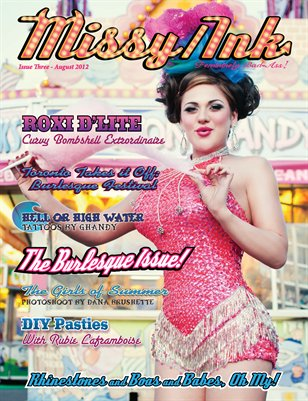 Missy/Ink Magazine - Burlesque Issue