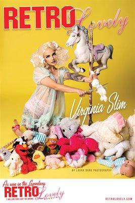 Virginia Slim Cover Poster - RL124