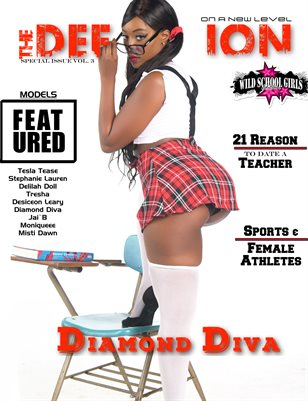 TDM: Diamond Diva Wild School Girls Vol. 3 Cover 1 2019