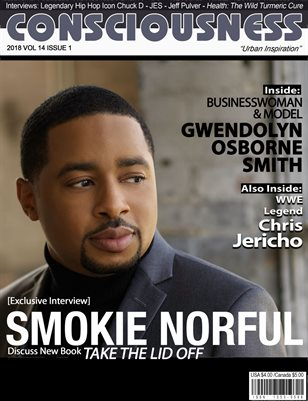 Smokie Norful featured on cover of Consciousness Magazine