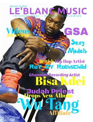 Le'Blanc Music Mag Vol.1-Judah Priest