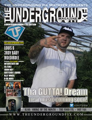 The Underground Fix Magazine 'Commission Committee' Edition