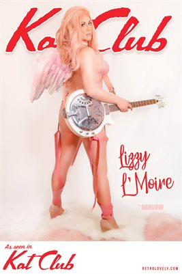 Kat Club No.25 – Lizzy L'Moire Cover Poster