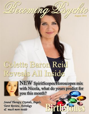 Becoming Psychic Magazine August Edition