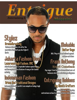 Entrigue Magazine November 2012
