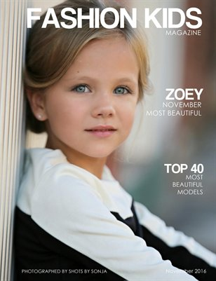 Fashion Kids Magazine | NOVEMBER TOP 40 MOST BEAUTIFUL
