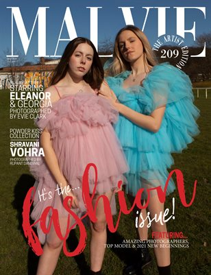 MALVIE Magazine The Artist Edition Vol 209 May 2021