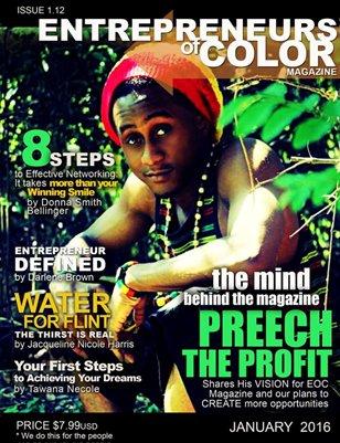 Entrepreneurs of Color Magazine (January 2016)
