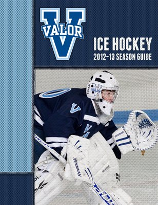 2012-2013 Ice Hockey Season Guide