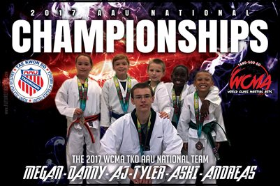2017 AAU National Championships TKD Poster