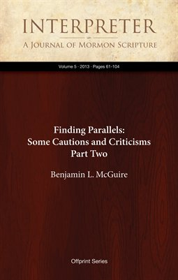 Finding Parallels: Some Cautions and Criticisms, Part Two