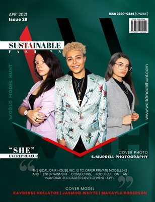World Model Hunt Magazine - April - 2021