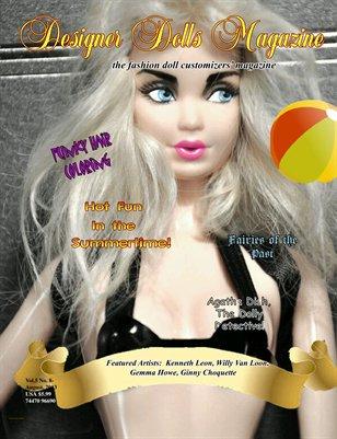 Designer Dolls Magazine - August 2013
