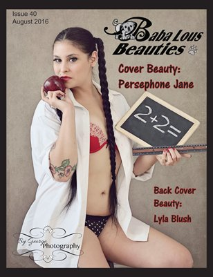 Baba Lous Beauties-Anything Pin Up Issue 40: August 2016