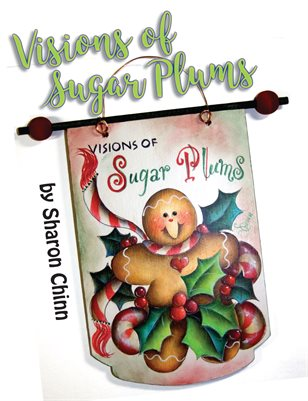 Visions of Sugar Plums Painting Project by Sharon Chinn