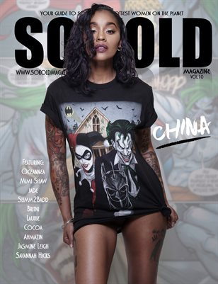 "SO KOLD MAGAZINE 10 ""CHINA"" COVER"