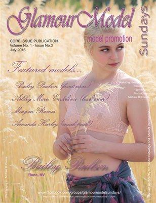 GlamourModelSundays Magazine - July 2016 - CORE ISSUE