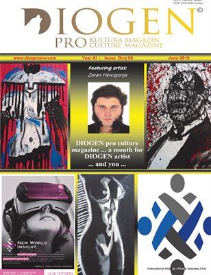 DIOGEN pro culture magazine, No 98, June 2019
