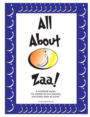 All About Zaa Activity Book
