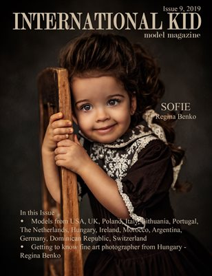 International Kid Model Magazine issue #9