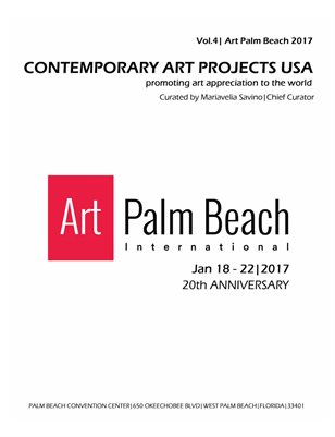 Contemporary Art Projects USA | Vol. 4| Art Palm Beach 2017 | Booth #106