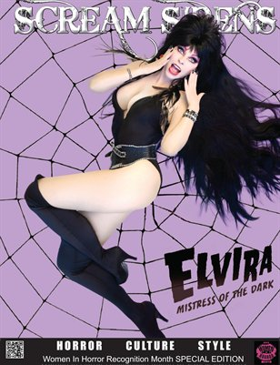 Scream Sirens Issue #3 Featuring Elvira (The Mistress of The Dark) Collector Issue with No Advertisements.