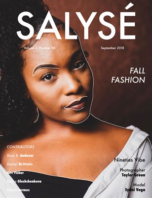 SALYSÉ Magazine | Vol 4 : No 88 | September 2018
