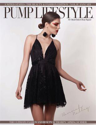 PUMP Magazine - Fashion & Beauty Couture - January 2019 - V2