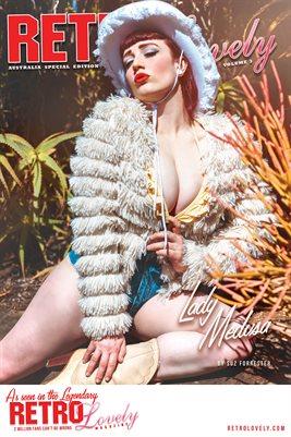 Lady Medusa Cover Poster