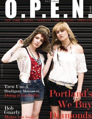 O.P.E.N. Magazine Issue 2/  We Buy Diamonds