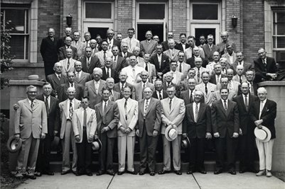 1st Christian Church Mens Class 1955, Mayfield, Graves County, Kentucky