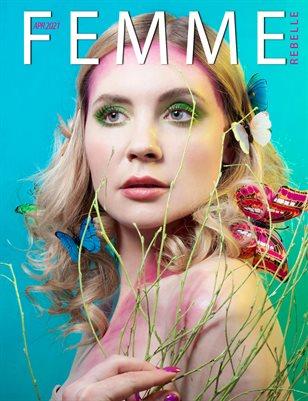 Femme Rebelle Magazine April 2021 REG ISSUE - Joanna Kiczka Cover