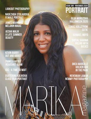 MARIKA MAGAZINE PORTRAIT (NOVEMBER-ISSUE 380)