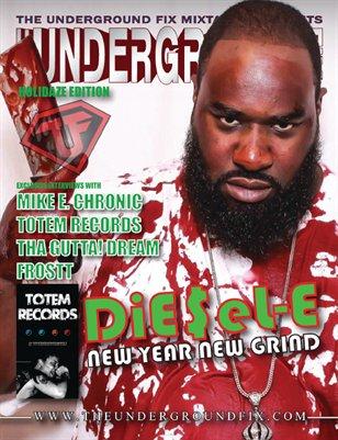 The Underground Fix Magazine 'Holidaze Edition'