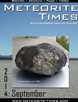 Meteorite Times Magazine - September 2014 Issue