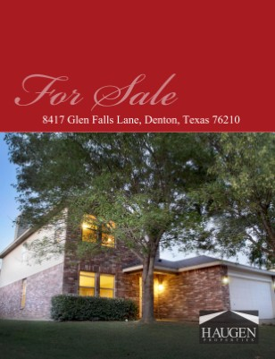 Haugen Properties - Glen Falls Lane, Denton Texas 76210