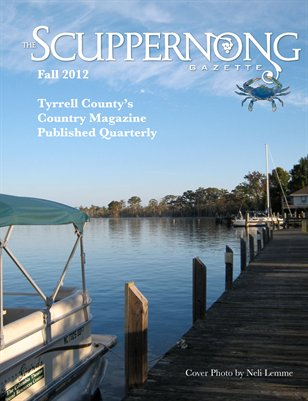 Scuppernong Gazette Fall 2012