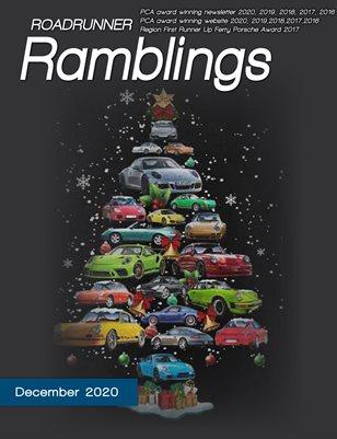Roadrunner Ramblings December 2020