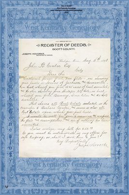 No.170698a 1893 Quit-Claim Deed Joseph C. Linhoff and wife to Barbara Conter, Ramsey County, Minnesota