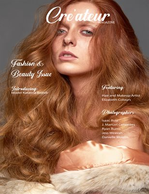 Cre'ateur Magazine - Fashion & Beauty Issue